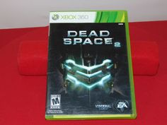 XBOX 360 VIDEO GAME DEAD SPACE  VISCERAL GAMES EA 2 DISK SET #Everyday