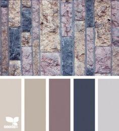 Kleuren Walled tones