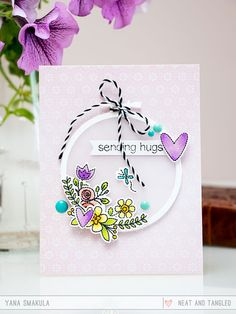 July 2015 Release Day 4: Introducing Hand Stitched   Dies  - Products and inspiration from Neat And Tangled: http://neatandtangled.blogspot.com/