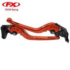 FXCNC Racing CNC Aluminum Folding Extendable Adjustable Brake Clutch Levers for Honda CBR954RR 2002 2003 CBR600RR 2003 2004 2005 2006