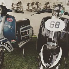 Good day at Motorsport at the Palace today. Great to see 3.50 x 10's on the track. #lambretta #supertune #chrystalpalace