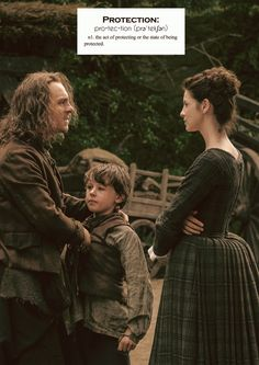 Outlander definitions.- Protection. (x)