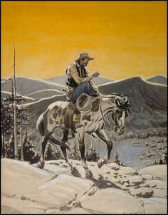A long days ride by Alex Raymond.