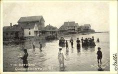Quonochontaug Breachway before the Hurricane of 1938