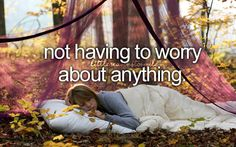 Yep. :)  But if I that girl was me, I'd worry about bugs getting into my hair and sleeping bag...