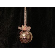 """Handcrafted """"It's a Girl"""" Hand/Footprint Silver Glass Ball Ornament Handcrafted Christmas Ornaments, Handmade Christmas, Fabric Ornaments, Ball Ornaments, Girls Hand, Glass Ball, Footprint, Decorative Bells, Gemstones"""