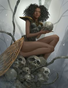 Black Characters, Dnd Characters, Fantasy Characters, Female Characters, Fantasy Women, Sci Fi Fantasy, Dark Fantasy, Fantasy Character Design, Character Design Inspiration