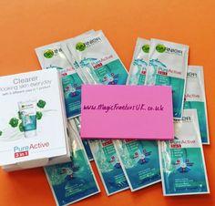 So many FREE Garnier Samples! Thanks Garnier! :) #skincare