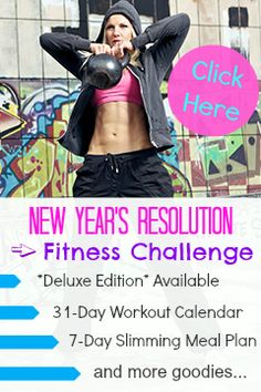 Are you ready for the New Year's Resolution Fitness Challenge? Get Ready To Get Fit with our January 2014 Workout Calendar and our fat burning meal plan. Fitness Tips, Fitness Motivation, Health Fitness, Fitness Challenges, Prison Workout, Healthy Diet Tips, Healthy Lifestyle, Shape Fitness, Workout Calendar