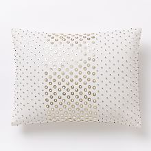 Sequined Allover Dot Pillow Cover