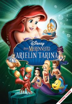 Pieni Merenneito 3: Arielin tarina DVD 14,95€
