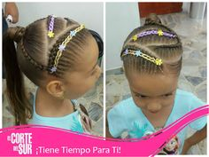 Sala Junior, Little Girl Hairstyles, Little Girls, Outfits, Fashion, Easy Hairstyles, Hairstyles For Babies, Child Hairstyles, Hairstyle Tutorials