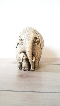 Your place to buy and sell all things handmade Elephant Home Decor, Vintage Elephant, Baby Nursery Decor, Vintage Home Decor, Vintage Shops, Calves, Lion Sculpture, Statue, Etsy