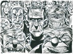 The Monsterand Friends by Jim McDermott