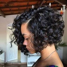 100% Brazilian Virgin Human Hair Lace Front Wig Short Bob Curly Full Lace Wig #Unbranded #FullWig