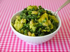 Kale Avocado Salad on Weelicious