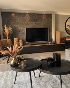 Cozy Living Rooms, Living Room Interior, Home Living Room, Living Room Designs, Student Home, Cosy House, Interior And Exterior, Interior Design, Living Room Inspiration