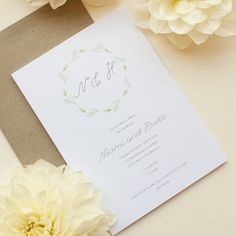 Wedding Invitations By Paperlust Botanical Wedding Invitations, Wedding Invitations Online, Wedding Invitation Inspiration, Engagement Invitations, Baby Shower Invitations, Wedding Stationery, Birthday Invitations, Perfect Wedding, Wedding Cards
