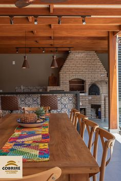 The barbecue will be even better in the company of the natural straw-lined wooden pergola. Home Design Decor, Home Interior Design, Interior Decorating, Home Decor, Floor Design, House Design, Sweet Home, Backyard Renovations, Rustic Patio