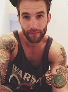 Hot guys with Tattoos<3