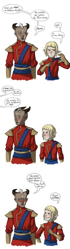 """critter-oh-habit: """"And that, Josie, is why we were kicked out of the Winter Palace."""""""
