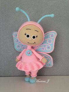 Crochet Animal Patterns, Crochet Doll Pattern, Stuffed Animal Patterns, Crochet Patterns Amigurumi, Amigurumi Doll, Crochet Animals, Crochet Dolls, Doll Patterns, Amigurumi Tutorial