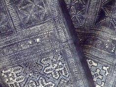 Bai fabric, tie-dyed - Yunnan Provincial Museum China