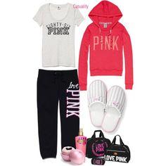 Victoria's Secret Pajama Party - Polyvore
