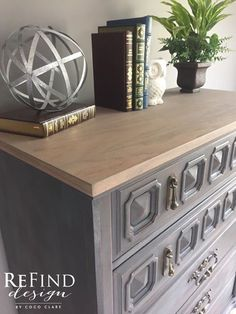 Available! Restoration Hardware Inspired Dresser. Painted in General Finishes…