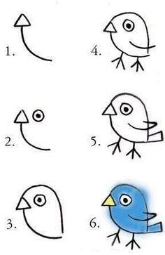 #çizim#kolayçizimler#basitçizimler#resim#görselsanatlar#okulöncesi#ilkokul#okulöncesietkinlik#draw#drawing#bird#pajaro#kuş#kuşçizimi