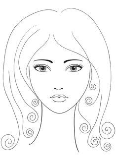 nail salon coloring pages - photo#30