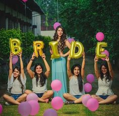 Ladies a pre-wedding shoot with your Best friend is THE new wedding trend! Well here's our pick of our fav bridesmaids photoshoot ideas to help you out! Pre Wedding Shoot Ideas, Pre Wedding Poses, Bridal Poses, Indian Wedding Photography Poses, Bride Photography, Indian Wedding Poses, Indian Wedding Ceremony, Haldi Ceremony, Wedding Stage