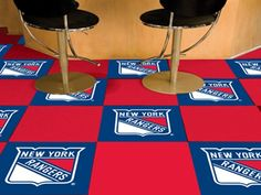 Use the code PINFIVE to receive an additional 5% discount off the price of the  New York Rangers NHL Carpet Tiles at sportsfansplus.com