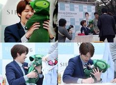 Proof that Kim Woo Bin would make the cutest father