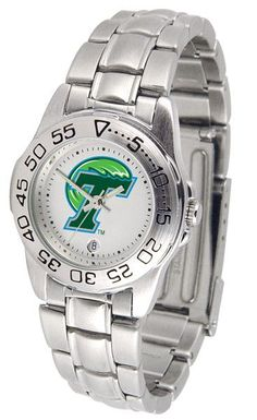 Tulane University Green Wave - Ladies' Sport Steel