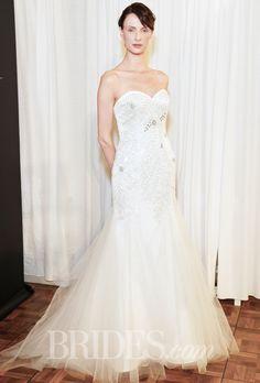 Luna Novias Wedding Dresses Spring 2015 Bridal Runway Shows Brides.com | Wedding Dresses Style | Brides.com