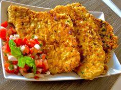 Kotlety schabowe po meksykańsku - Blog z apetytem Calzone, Tandoori Chicken, Fried Rice, Cauliflower, Catering, Fries, Pork, Food And Drink, Meat