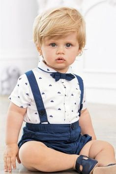 Cheap shirt flash, Buy Quality shirt outdoor directly from China shirt long sleeve men Suppliers: 2017 Summer Cotton Baby Clothes Gentleman Boy Clothes short sleeves shirt with bowtie+short bib pants clothing sets for boy Toddler Boy Fashion, Fashion Kids, Baby Boy Christening Outfit, Blue Shorts, Baby Boy Outfits, Outfit Sets, Little Boys, Cute Babies, Gentleman