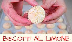 BISCOTTI AL LIMONE fatti in casa – Homemade Lemon Cookies