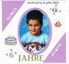 Kindergeburtstag  (Größe 12 x 12cm) Kinderalbum
