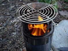 MsSpy's Wood Gas Stove