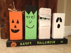 2x4 Halloween decor!