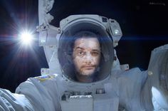 https://flic.kr/p/rmSe4L | I always knew I'd go to space |   Original Image Credits: Aki Hoshide, NASA  #photomanipulation #conceptualphotography #creativephotography #intestellar #astronaut