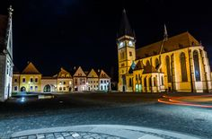Bardejov square lights - Photo was taken in Bardejov city center, Slovakia. The town is one of UNESCO's World Heritage Sites.  http://en.wikipedia.org/wiki/Bardejov  Thank you for your feedback More on:  http://lacohubaty.wix.com/photography