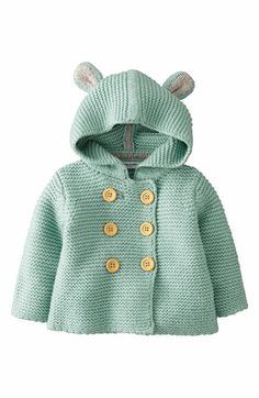 Mini Boden Hooded Jacket (Baby Girls) | Nordstrom, $42.00