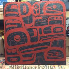 "30""x31"" panel finished! #aboriginal #aboriginalart #alaskanative #bcfirstnations…"