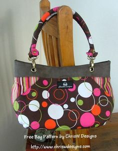 Coco FREE bag pattern by ChrisW Designs   Craftsy