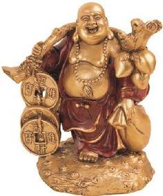 Thai Buddha Gold Design Collectible Statue Figurine Decoration Decor