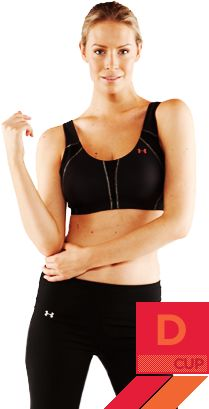 Introducing the UA Armour Bra™ D Cup. It's the only sports bra made just for you. #UnderArmour