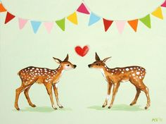 deer/wildlife/forest party?